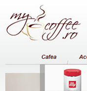 web design, modul de administrare site, platforma e-commerce, optimizare site - MyCoffee