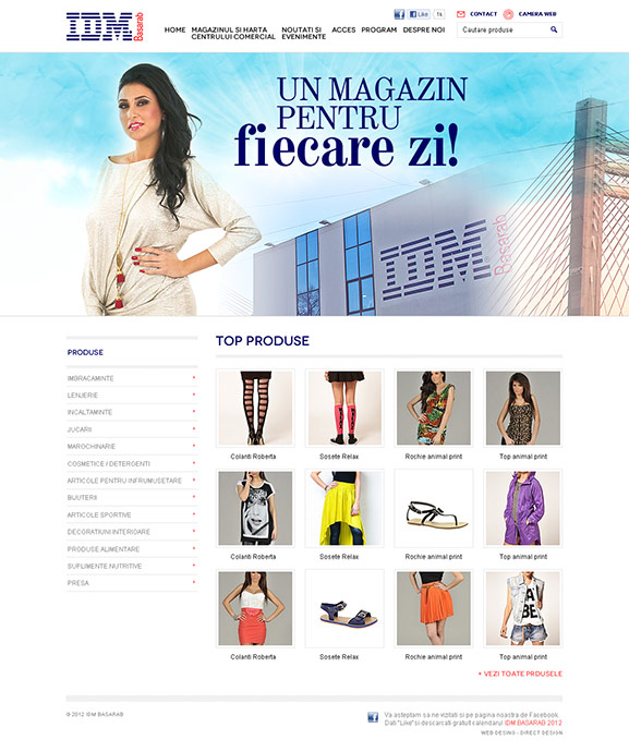 captură website IDM Basarab