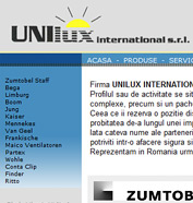web design, optimizare site - Unilux Internațional