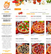 web design, modul de administrare site, optimizare site - Zaza Pizza