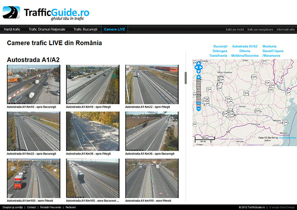 captură website TrafficGuide.ro