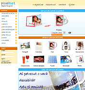 web design, aplicatie flash - Pixelnet