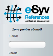 corporate id, modul de administrare site, optimizare site - e-Syv References