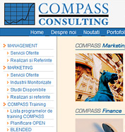 web design, modul de administrare site, optimizare site - COMPASS Consulting