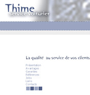 corporate id, web design - Thime