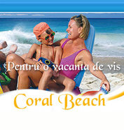 web design, modul de administrare site, optimizare site - Coral Beach